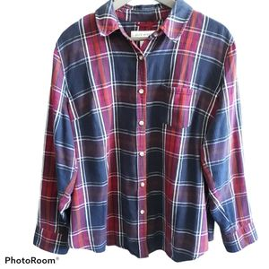 Pure Energy Womens Flannel